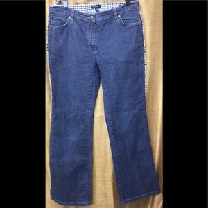 Burberry Womens Medium Wash Jeans